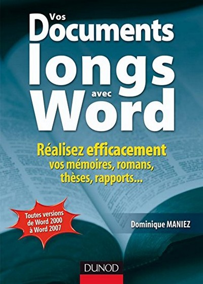 Vos documents longs avec Word