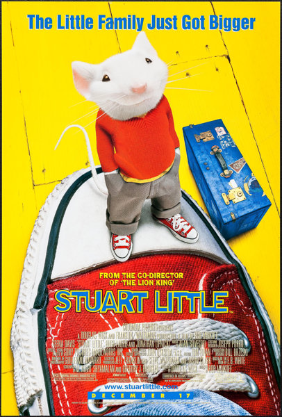 Stuart Little (1999) 1080p BDRip x264 Dual Audio English Hindi AC3 – MeGUiL | 2.23 GB |