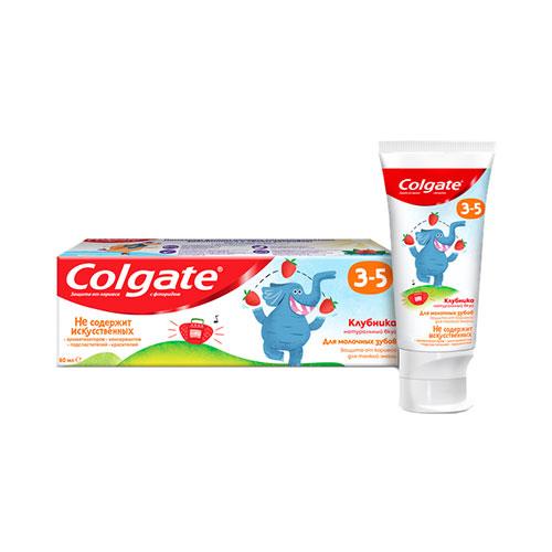 ქოლგეითი 3-5 მარწყვის საბავშვო კბილის პასტა ფტორით (6920354825552)