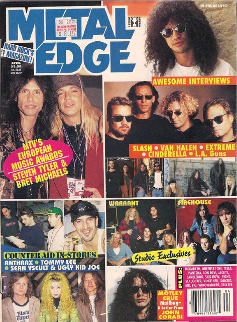 1995.04.DD - Metal Edge - Welcome to the Snakepit (Slash) Uten-navn