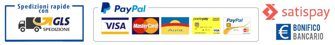 Svaposervizi metodi di pagamento e spedizione