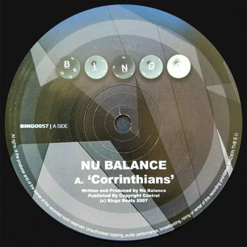Nu Balance - Corrinthians / Bounce Back