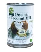 ქოქოსის რძე 22%, ორგანული 400 მლ