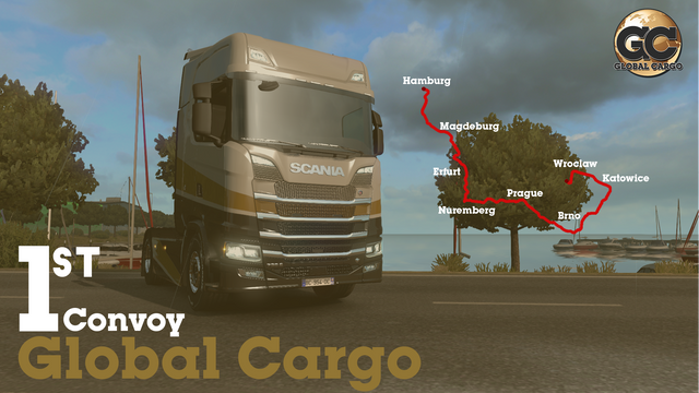 Global-cargo-First-Route