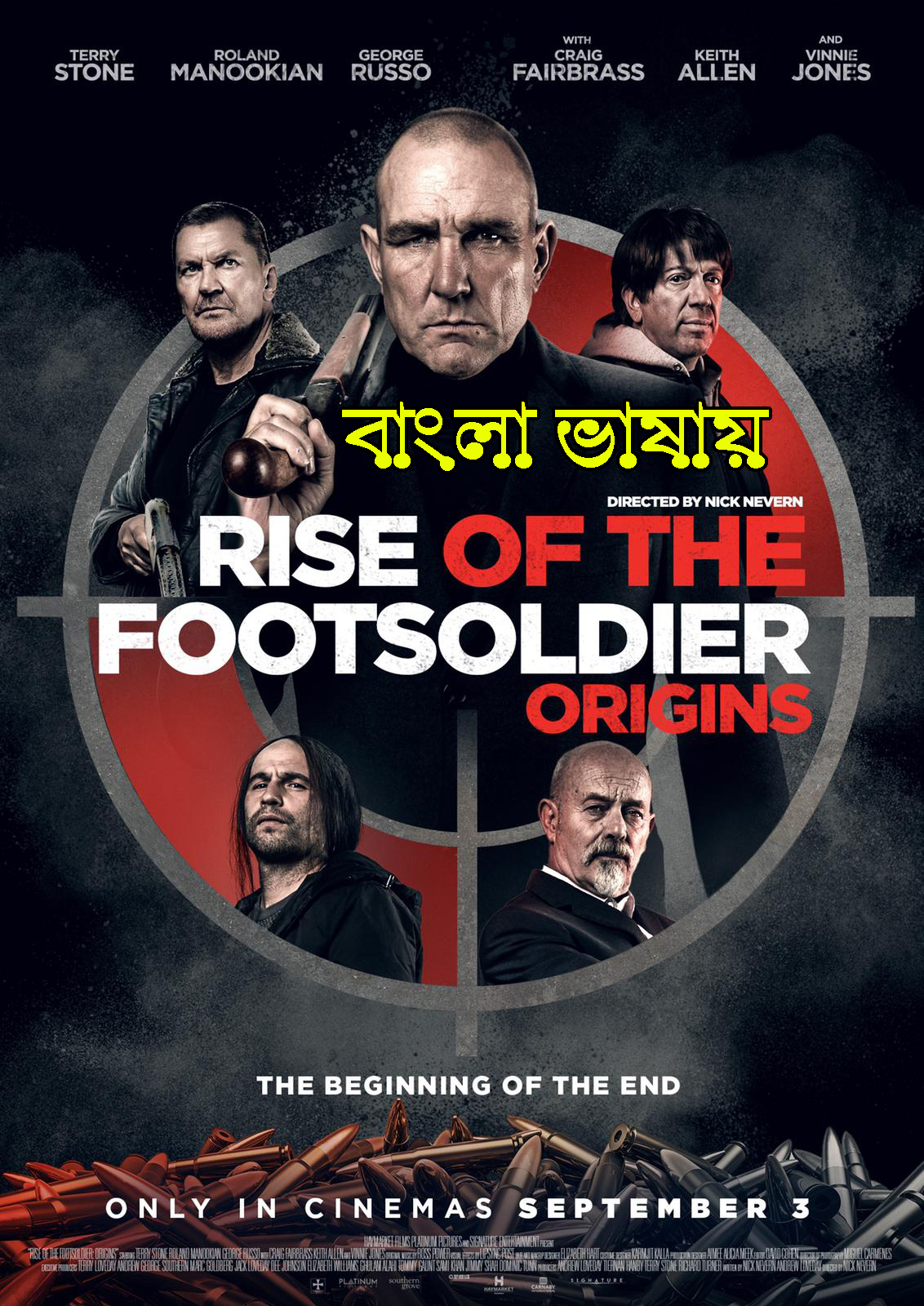Rise of the Footsoldier Origins (2021) Bengali Dubbed 720p HDRip 700MB Download