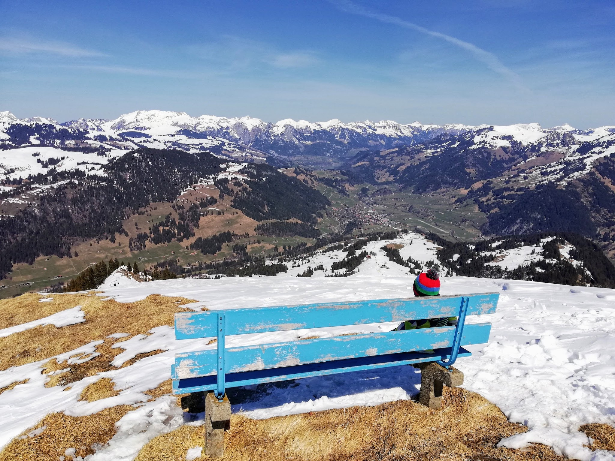 Zweisimmen, Rinderberg - new entry on my ski areas around Bern list