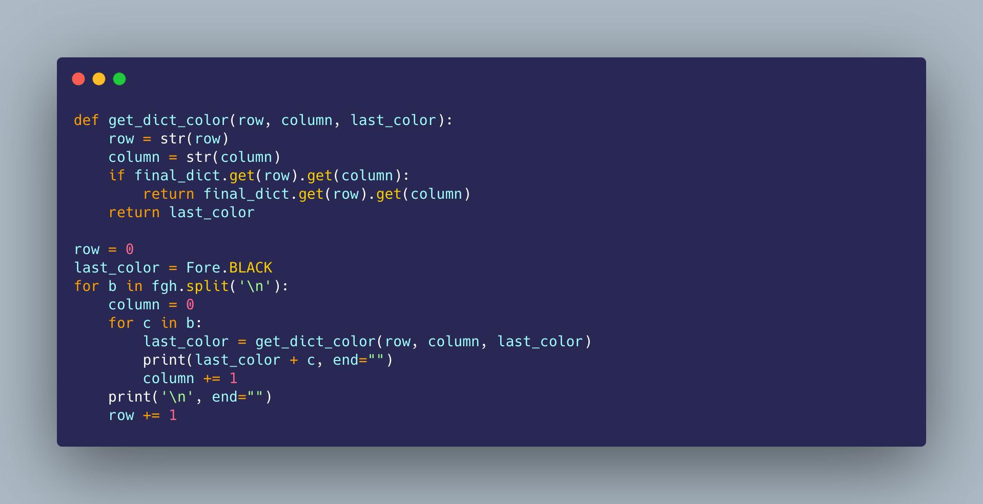 Creating Python Logo using Python