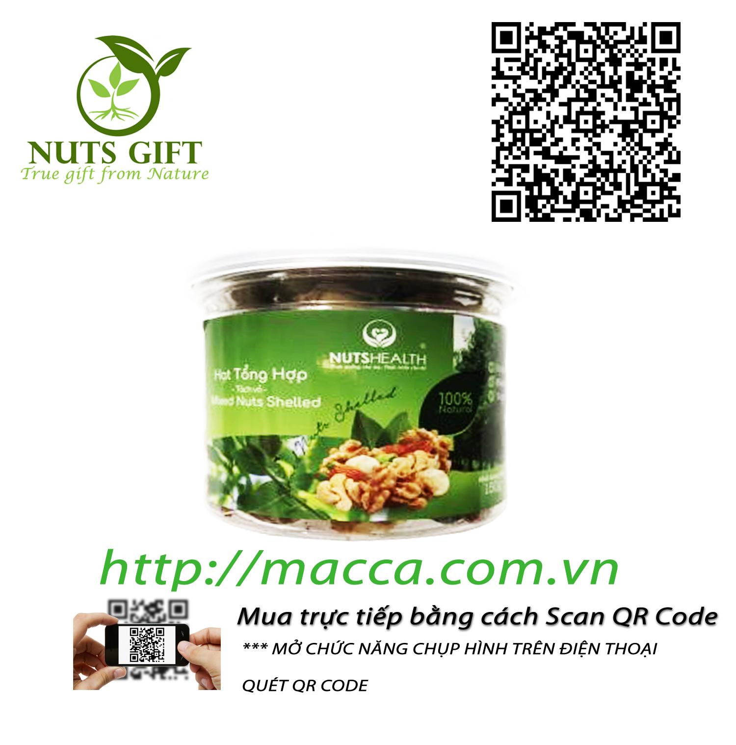 Nhân Hạt Tổng Hợp (Mixed Nuts) – Nutshealth – 150g