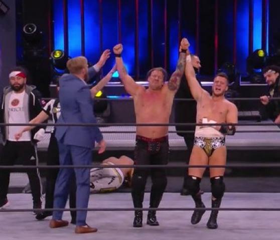 Chris Jericho y MJF vencen a The Acclaimed AEW 10 Febrero