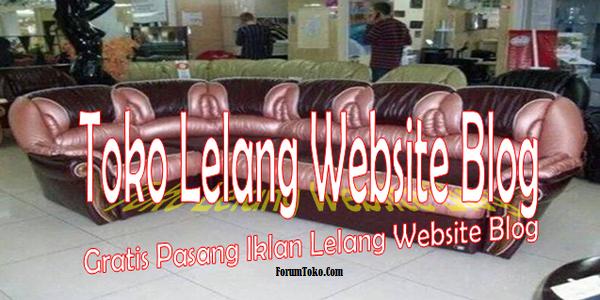 toko lelang online jual website blog