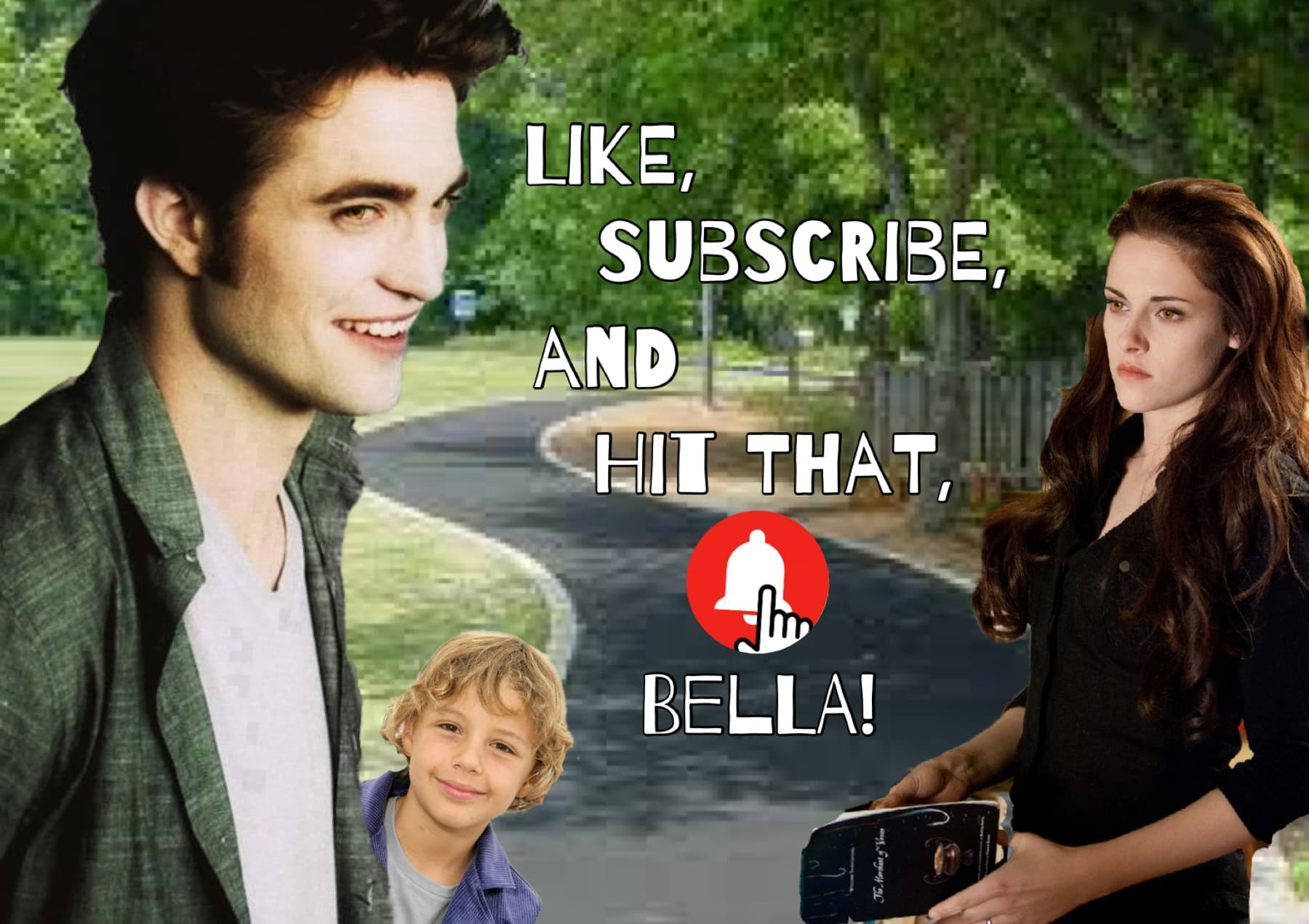 Like, Subscribe, and Hit That, Bella!