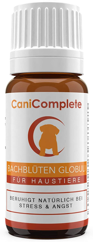 CaniComplete Relajantes para Gatos, Perros, Mascotas Glóbulos de Flores de Bach - Tranquilizante Natural para El Miedo y el Estrés - Pet Remedy