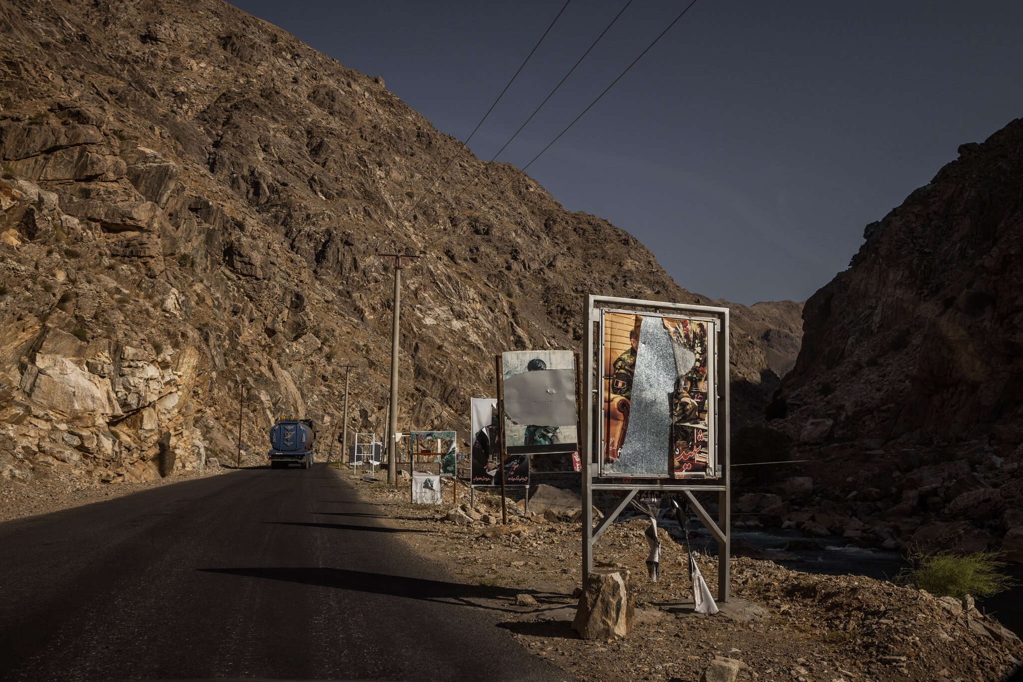 In Panjshir, Few Signs of Active Resistance, or No Fight At All