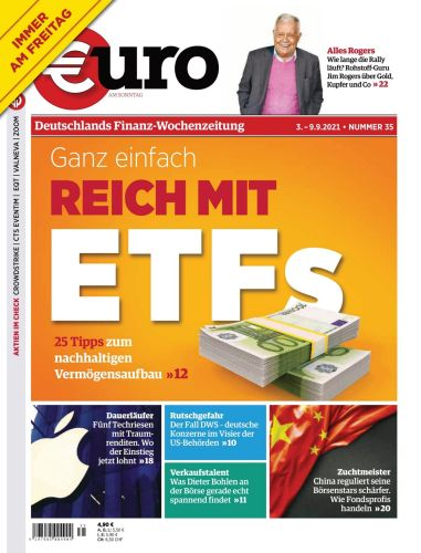 Cover: Euro am Sonntag Finanzmagazin No 35 vom 03  September 2021
