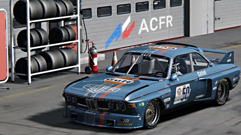 Championnat BMW CSL 3.5 Gulf5