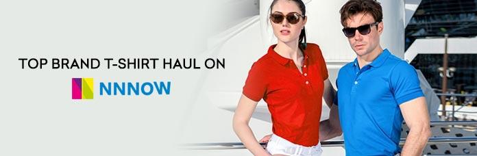 Top Brand T-shirt Haul