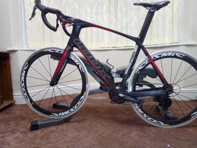 a57168824b7 Details about Look 795 Aerolight 2015 Large Carbon Fiber Road Bike /w Dura  Ace & Tyres