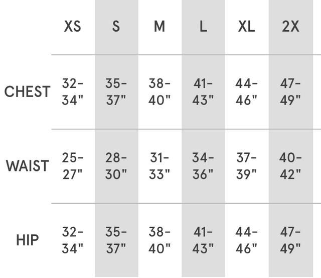 henley-size-chart