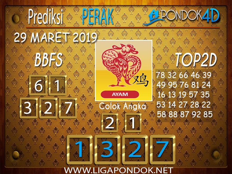 Prediksi Togel PERAK PONDOK4D 29 MARET 2019