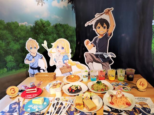 刀劍神域主題快閃餐廳開放公測!就在西門武昌誠品店 20210714-210714-14