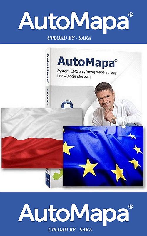 AUTOMAPA 6.27.0 ( 21.09 ) EUROPE / POLSKA FINAL CRACKED ( PC / WinCE )