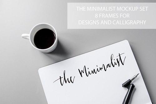 The Minimalist Mockup Set