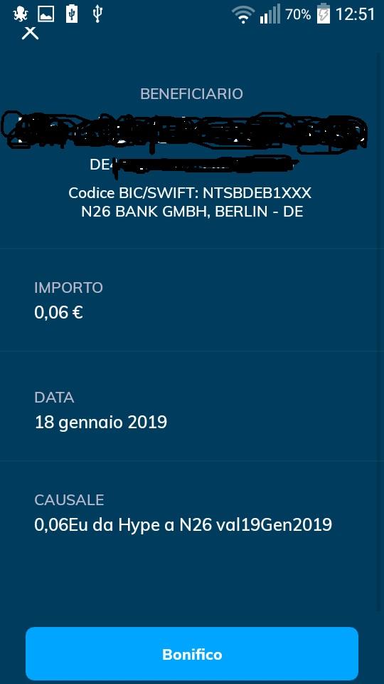N26 10,00€ +20,00€ e addio spese su acquisti all'estero + Scegli tu il PIN Carta! Mastercard Gratis. N26-da-hype-2