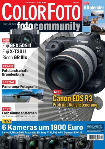 Cover: Colorfoto Magazin No 11 November 2021