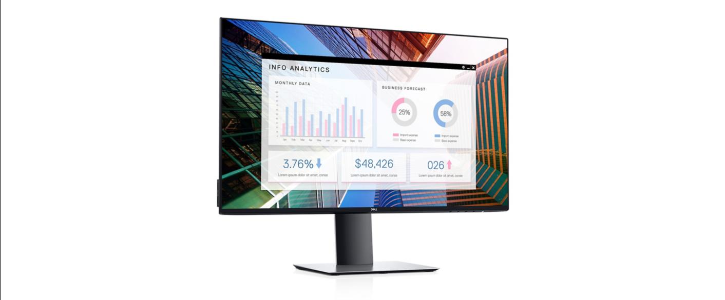 "Dell UltraSharp 27"" InfinityEdge U2719D Monitor - 210-ARBR 11"