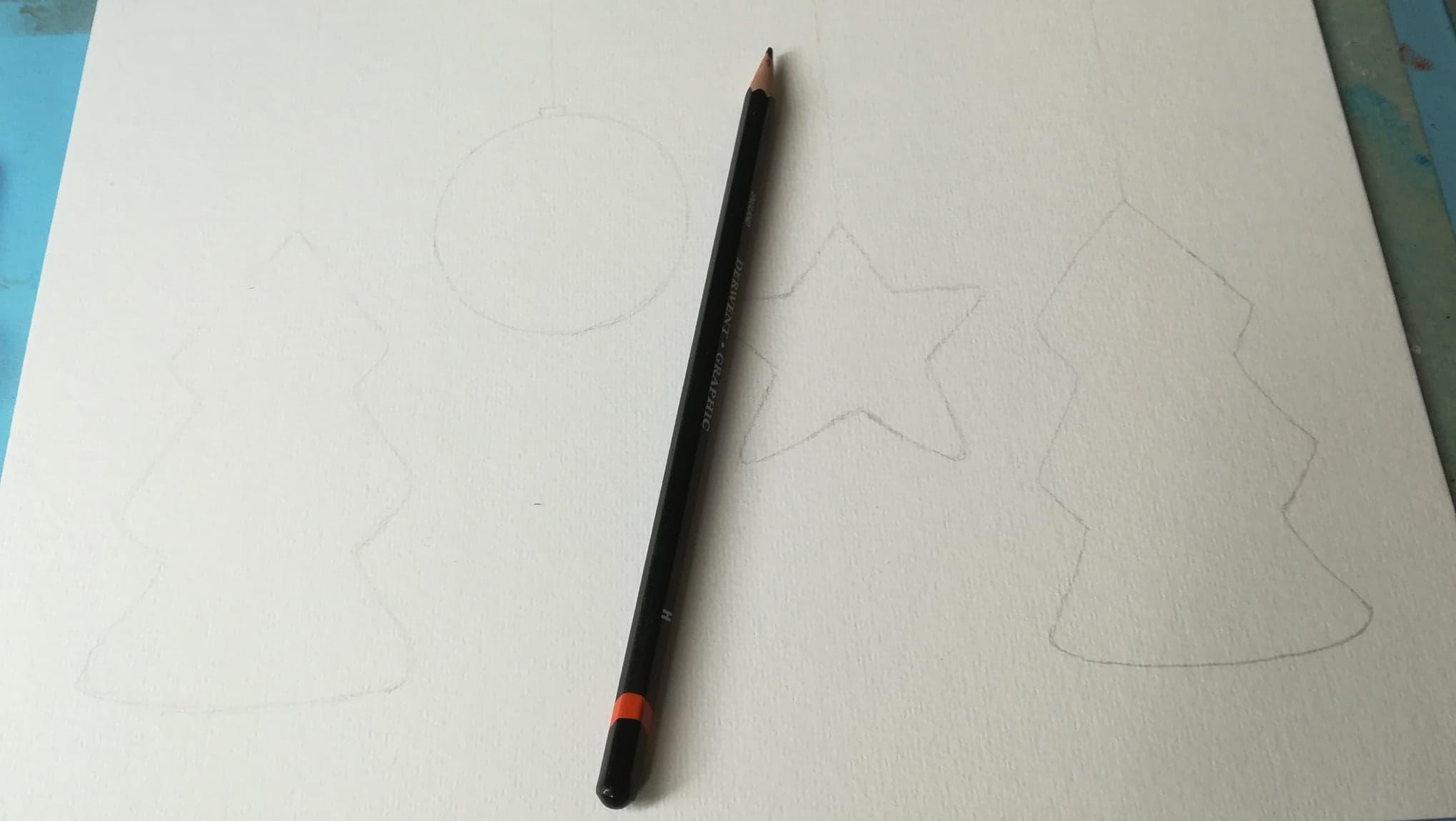 chrismas doodle art