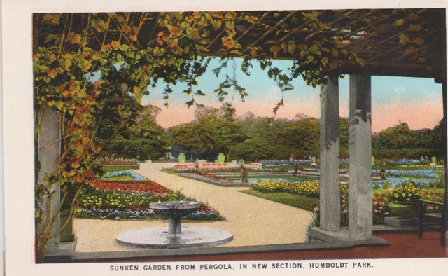 Humbolt Park Sunken Garden