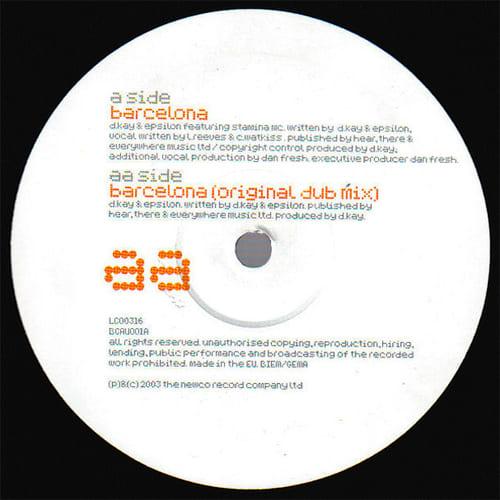 Download D.Kay & Epsilon Feat. Stamina MC - Barcelona mp3