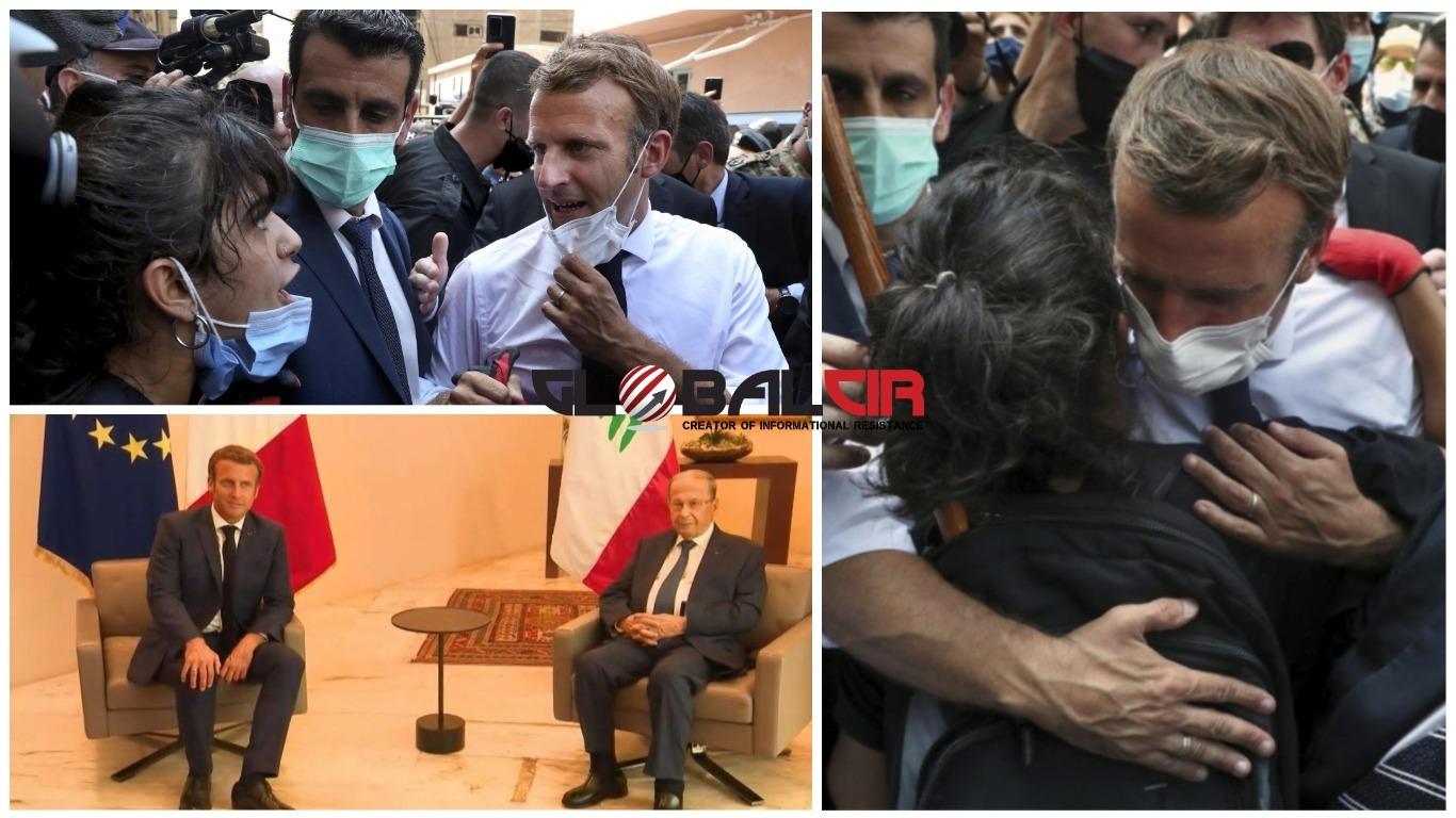 ŽIVJELA FRANCUSKA' UZVIKIVALI SU GRAĐANI! Narod Libana Makrona je dočekao  kao spasioca: Za njih je imao riječi utjehe i obećanja, a za političku  elitu - ultimatum! - GlobalCir