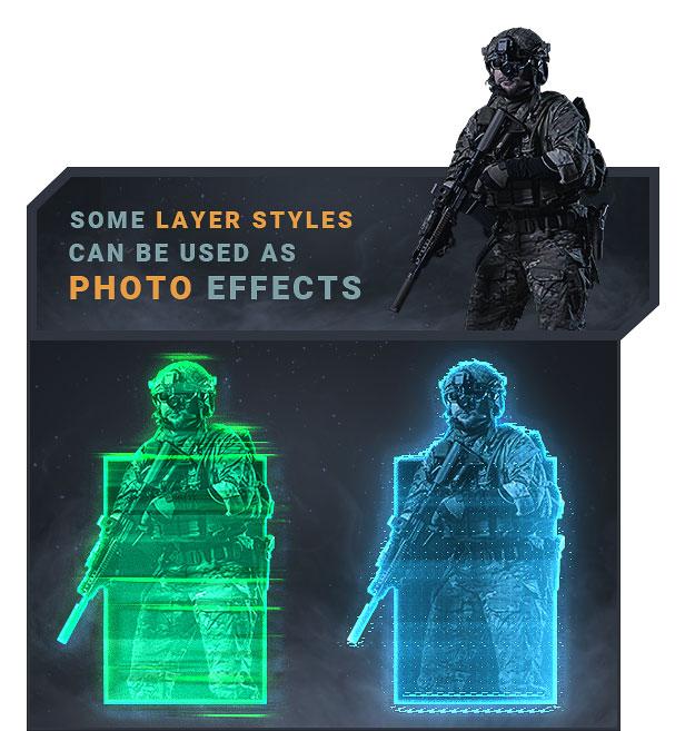 Modern Warfare Layer Styles - 2