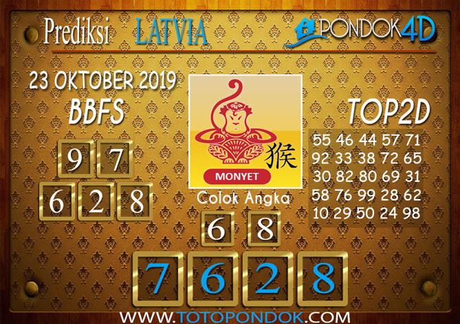 Prediksi Togel LATVIA POOLS PONDOK4D 23 OKTOBER 2019