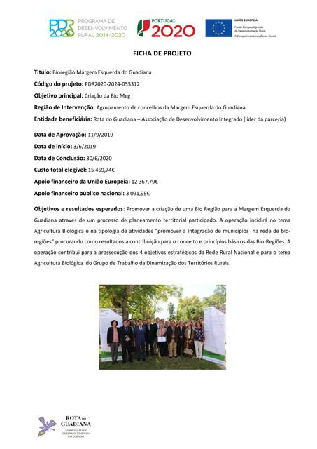Ficha de projeto Bioregião Margem Esquerda do Guadiana