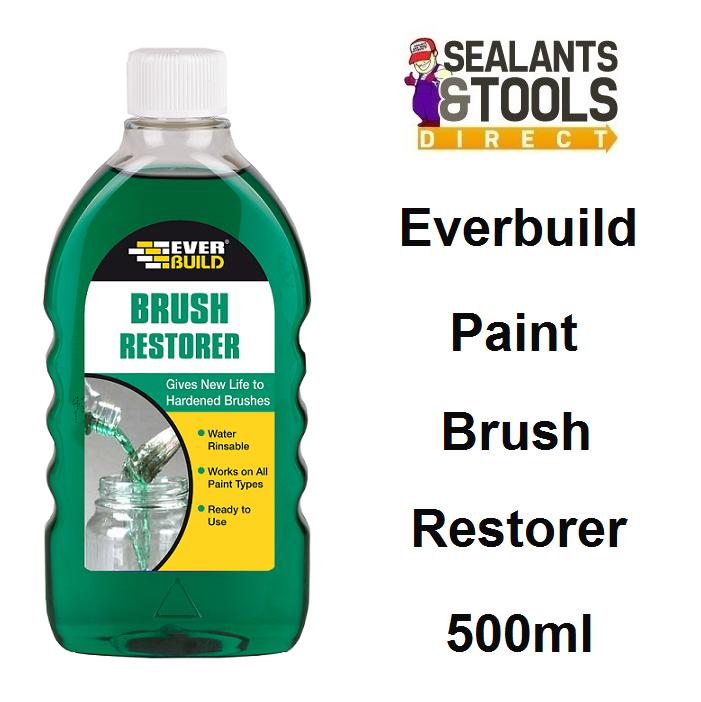 Everbuild Paint Brush Restorer 500ml BRUSHREST