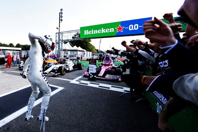 F1 GP d'Italie 2020 : Victoire Pierre Gasly (Alpha Tauri) Italian-grand-prix-2020-2