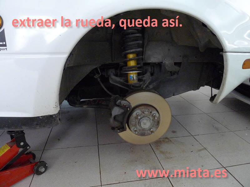 TUTORIAL DE COMO CAMBIAR EL EMPUJADOR HIDRAULICO DE LA LEVA DEL EMBRAGUE DEL MX-5/MIATA. 003