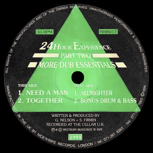 24Hour Experience - Part Two - More Dub Essentials