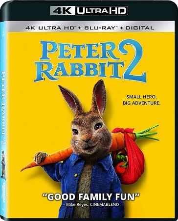 Peter Rabbit 2 (2021) Blu-ray 2160p UHD HDR10 HEVC iTA/FRE/GER DTD-HD 5.1 ENG TrueHD 7.1