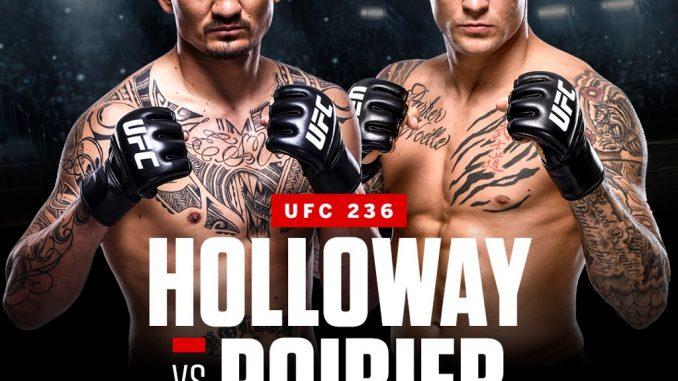 UFC 236 Main Card - Holloway VS. Poirier 2 (2019)[HDTV 720p][Español][VS]