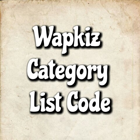 Download Wapkiz Category Code With Thumbnail txt :: Best