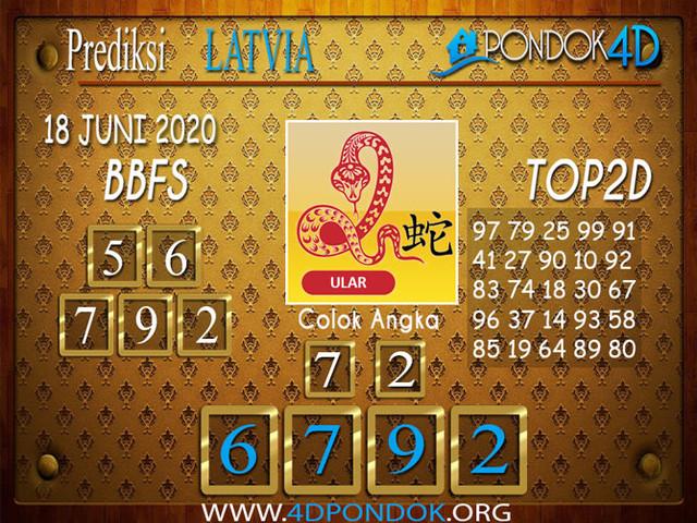 Prediksi Togel LATVIA POOLS PONDOK4D 18 JUNI 2020