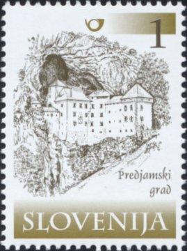 Slovenia stamps PREDJAMSKI-GRAD