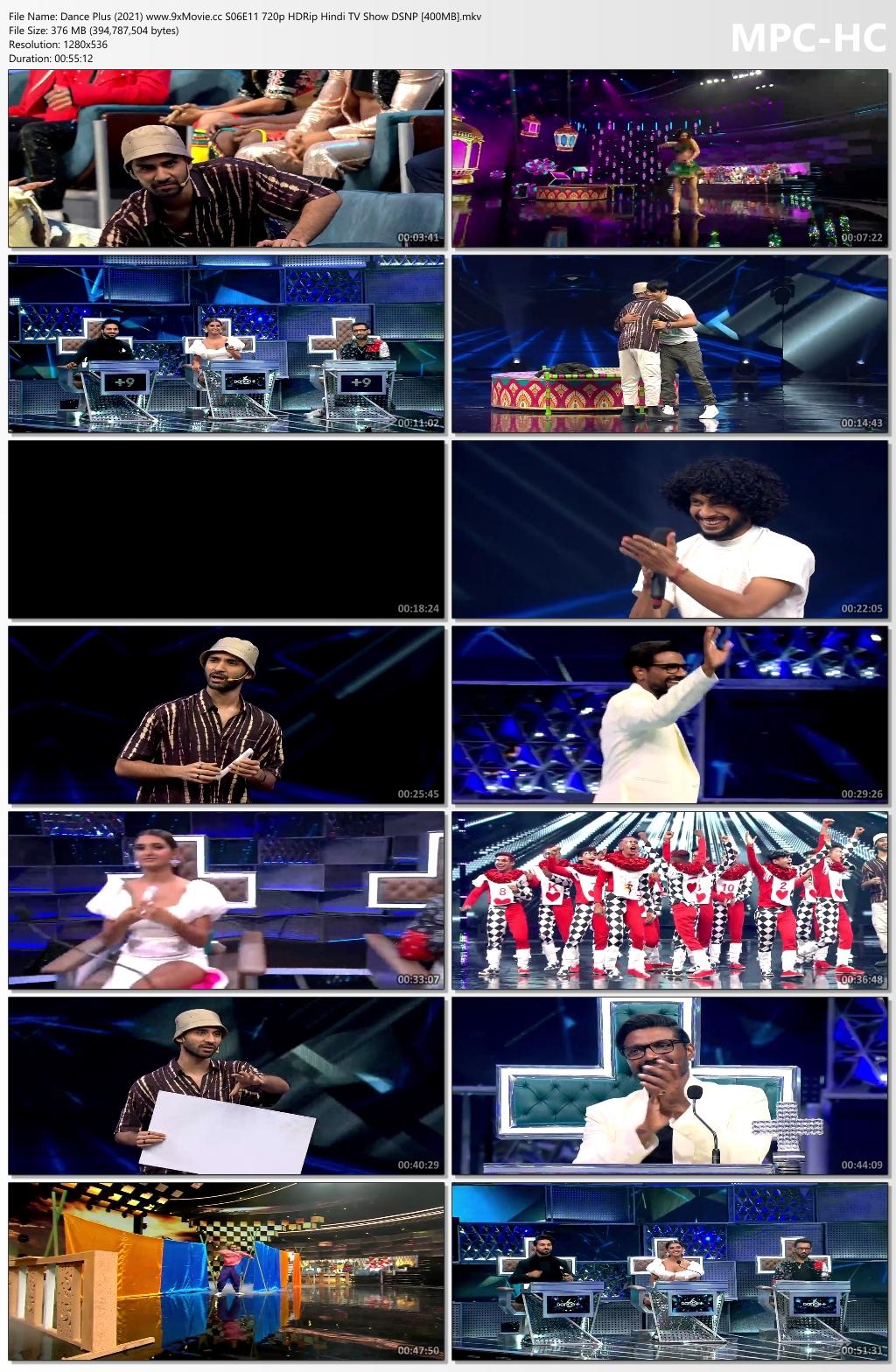 Dance-Plus-2021-www-9x-Movie-cc-S06-E11-720p-HDRip-Hindi-TV-Show-DSNP-400-MB-mkv