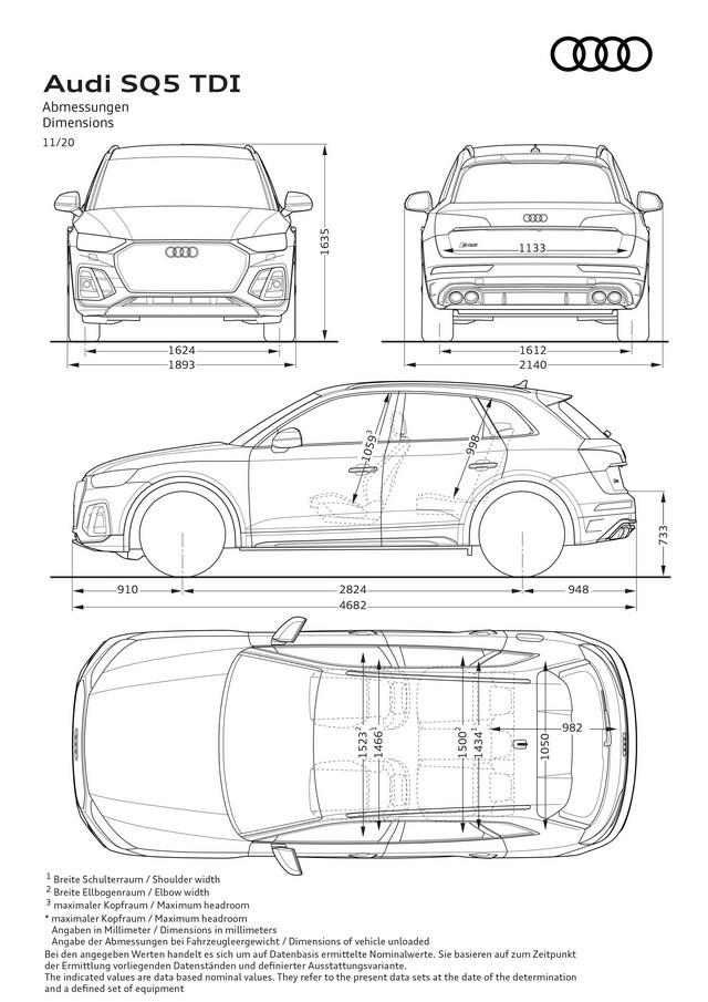 Sportivité, puissance et efficience : Audi présente la nouvelle génération de la SQ5 TDI A208388-medium