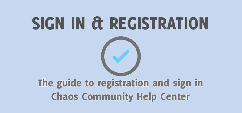 Sign In & Registration Troubleshooting