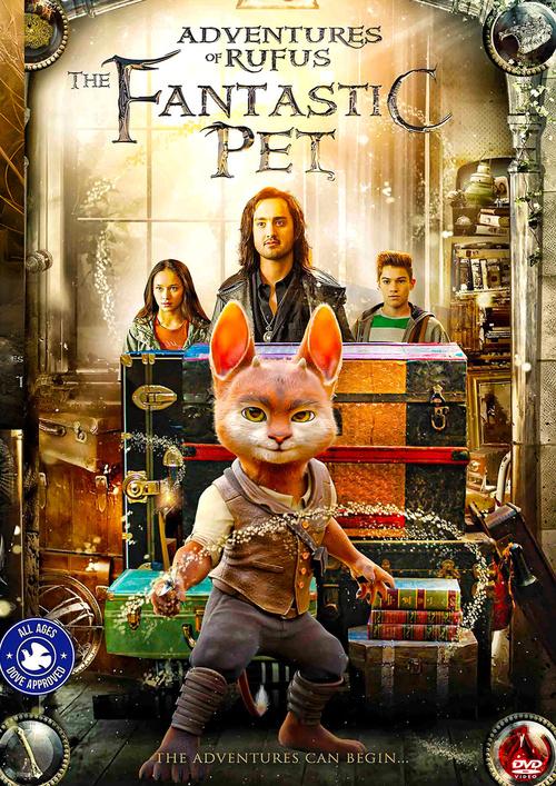 Mój przyjaciel Rufus / Adventures of Rufus: The Fantastic Pet (2020) PL.WEB-DL.XviD-GR4PE / Lektor PL