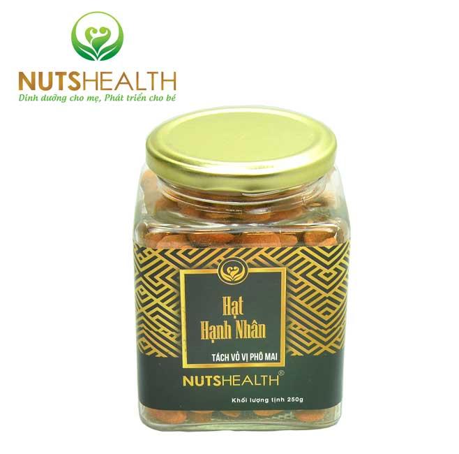 HẠNH NHÂN PHÔ MAI – NUTSHEALTH – 250GR (Copy)